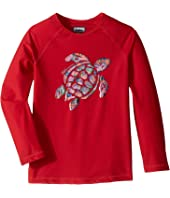 Vilebrequin Kids - Turtle Printed Place Rashguard (Toddler/Little Kids/Big Kids)