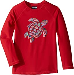 Turtle Printed Place Rashguard (Toddler/Little Kids/Big Kids)
