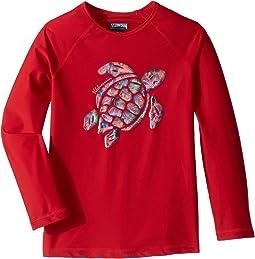 Turtle Printed Place Rashguard (Toddler/Little Kids/Big Kids)