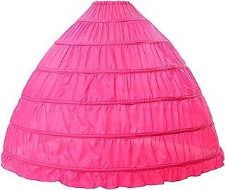 pink hoop skirt