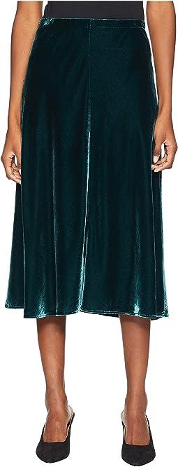 Velvet Bias Skirt