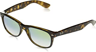 RAY-BAN RB2132 New Wayfarer Sunglasses, Havana/Gold Gradient, 55 mm
