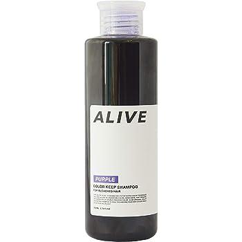 ALIVE COLOR KEEP SHAMPOO PURPLE アライブ カラーシャンプー 極濃 紫シャンプー 200mlパープル ムラシャン ムラサキシャンプー ヘアカラー
