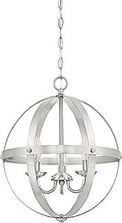 Westinghouse Lighting níquel Cepillado Westinghouse iluminación 63419 Lámpara de araña para Interiores Stelle Mira de Tres Brazos, Acabado