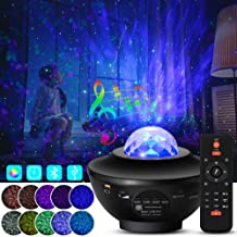 LED Star Projector Lights 2 in 1 Sterrenhemel Nachtlampje Lamp & Ocean Wave Projector Cadeaus voor kinderen Volwassenen Sl...
