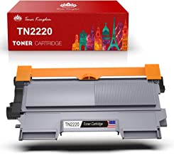 Toner Kingdom 1 Paquete Compatible Brother TN2220 TN2210 Cartucho de tóner para Brother HL-2250DN HL-2220 HL-2130 HL-2132 HL-2230 HL-2240 HL-2240D HL-2270 HL-2270DW HL-2275 HL-2280DW MFC-7360N