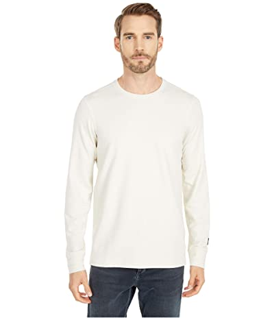 The North Face Long Sleeve TNF Terry Crew (Vintage White Heather) Men