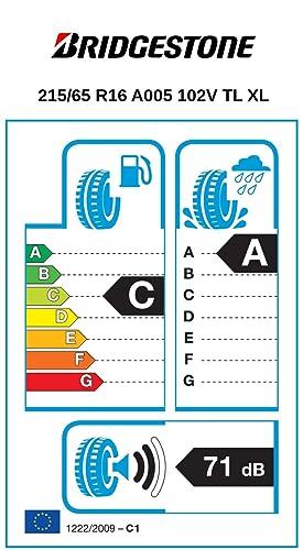 Bridgestone Weather Control A005 215 65 R16 102v Xl C A 71 Ganzjahresreifen Pkw Suv Auto