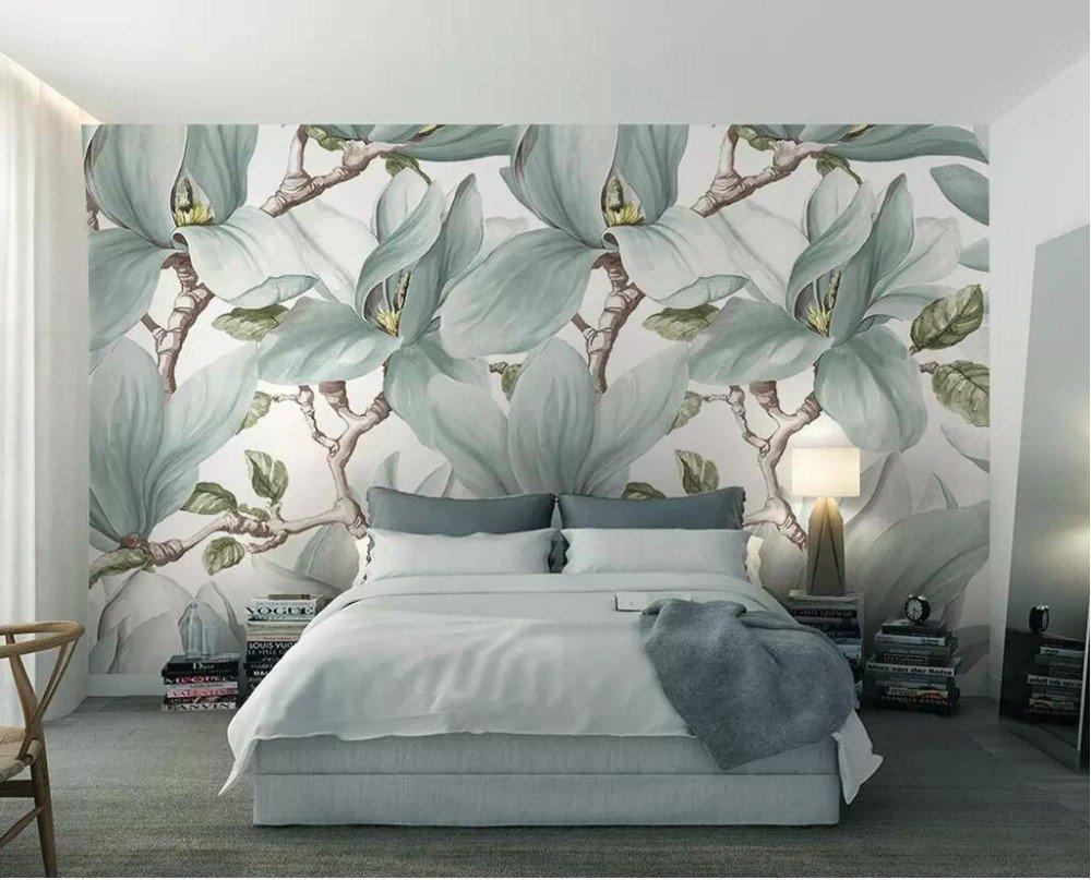 Amazon Yosot カスタム壁紙中国の黒と白の抽象的なライン水彩景色テレビの背景家の装飾3dの壁紙 壁紙