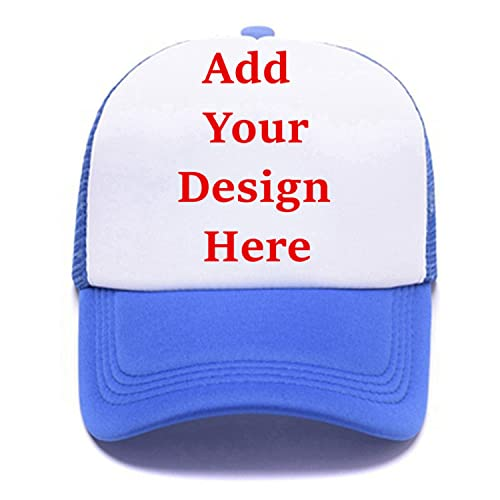 Personalized Snapback Trucker Hats Custom Unisex Mesh Outdoors Baseball Caps 921c160ec15