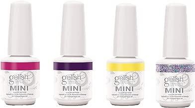 Gelish Mini 3 Color & 1 Glitter Overlay Gel Nail Polish, Rocketman Collection