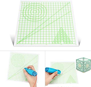 Festnight 3D Printing Pen Mat Drawing Board with Multi-Shaped Basic Template Art Supplies Tool 3D Pen Accessories Gift for...