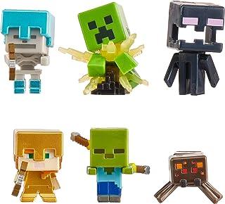 Minecraft 6mini-figurines sur le thème Nightfall, jouet d'action et d'aventure pour enfant inspiré par le jeu vidéo, GXT26