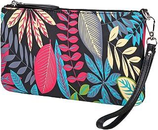 Lam Gallery Nylon Wristlet Handbag Fashion Floral Clutch Purse for Womens