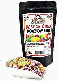 BONBON MIX BEST OF CHILI - von mild zu extra scharf - 200g - RED DEVILS TASTE