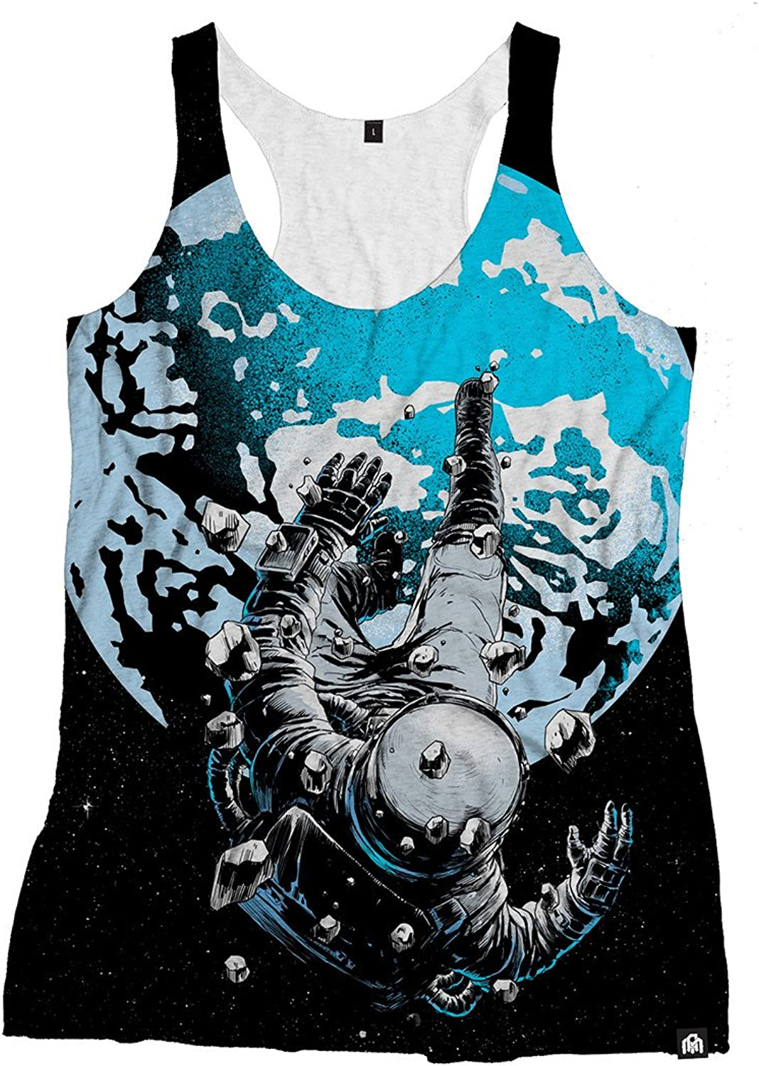 INTO THE AM The Lost Astronaut Premium Women's All Over Print Rave Tank