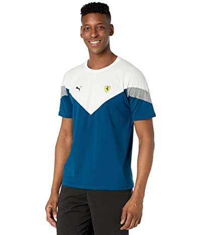 PUMA Golf Ferrari Race MCS T-Shirt (Gilbarter Sea) Men