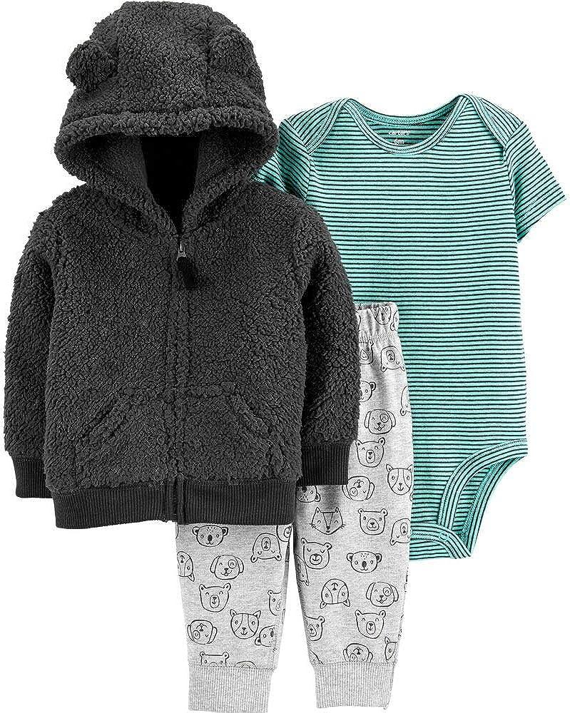 Carter's Baby Boys' 3-Piece Little Jacket Sets