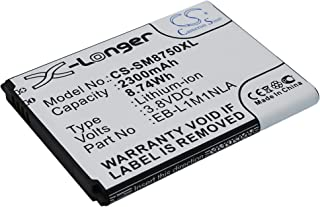 2300mAh Battery Replacement for Samsung ATIV S ATIV S 16GB ATIV S 32GB GT-I8370 GT-I8750 GT-I8750 16GB GT-I8750 32GB Odyss...
