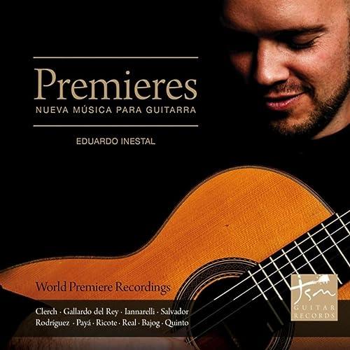 Premieres - Nueva Música para Guitarra de Eduardo Inestal en ...