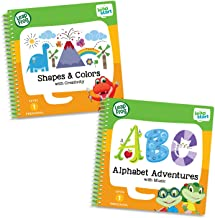 LeapFrog Leapstart Preschool Activity Book Bundle with ABC, Shapes & Colors, Level 1