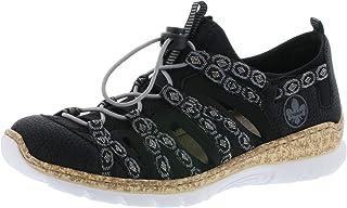 Rieker N42P7 Mujer Zapatilla Deportiva,Slip-on,de Moda,Calzado Informal,de Ocio