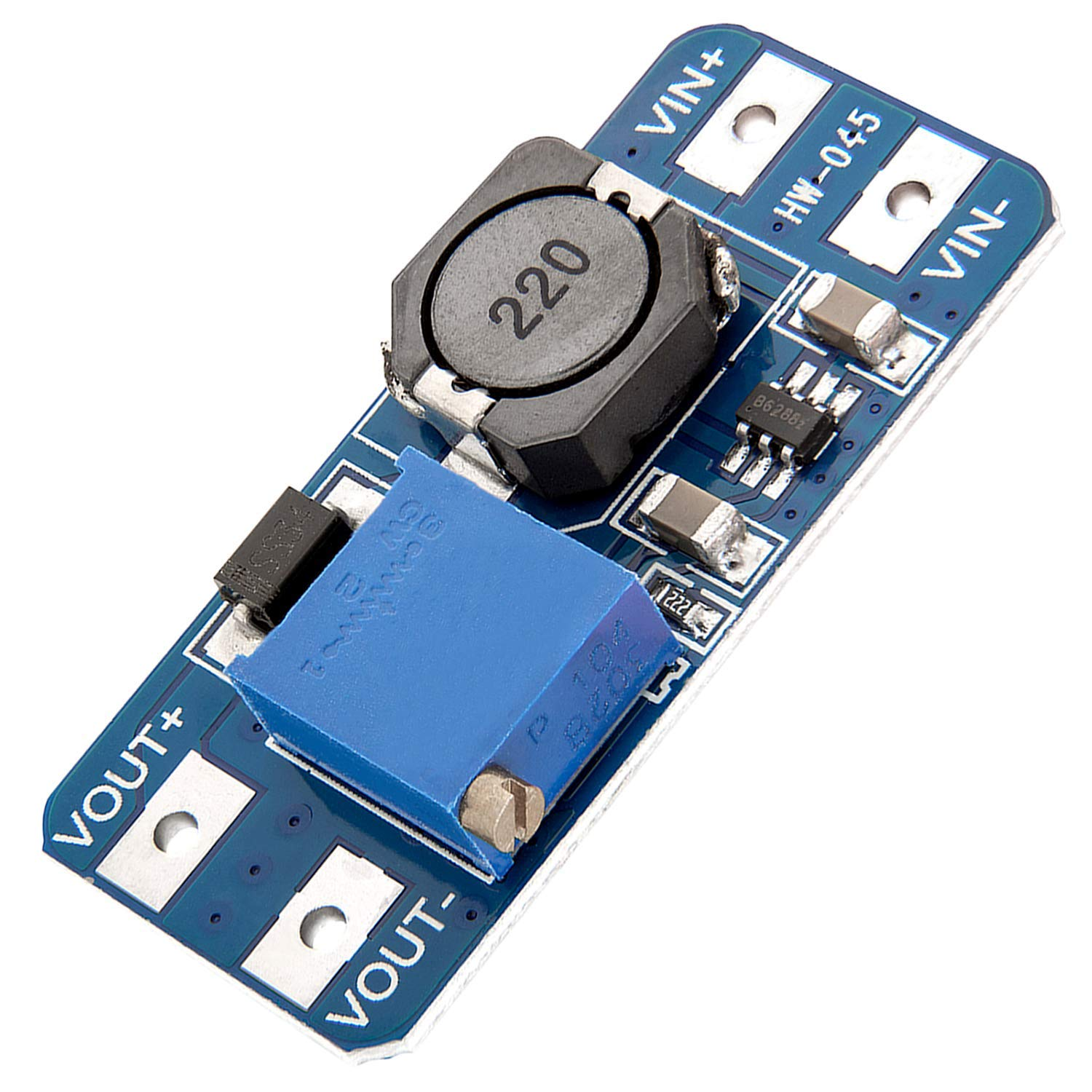 Azdelivery Mt3608 Dc Dc Power Supply Adapter Step Up Module Compatible With Arduino Including Ebook Business Industry Science