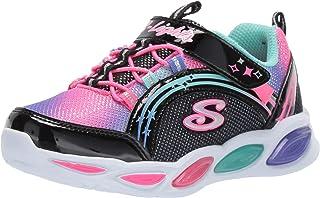 Skechers Glimmer Kicks-Glitter N' Glow, Baskets Fille