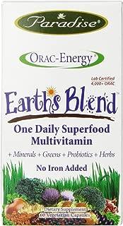 Paradise Herbs Orac Energy Multi One Vegetarian Capsules, 60 Count