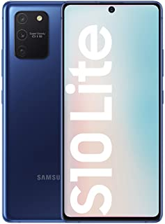 "Samsung Galaxy S10 Lite - Smartphone de 6.7"" FHD+ (4G, 8GB RAM, 128GB ROM, cámara trasera 48MP+12MP(UW)+5MP(Macro)+5MP, cá..."