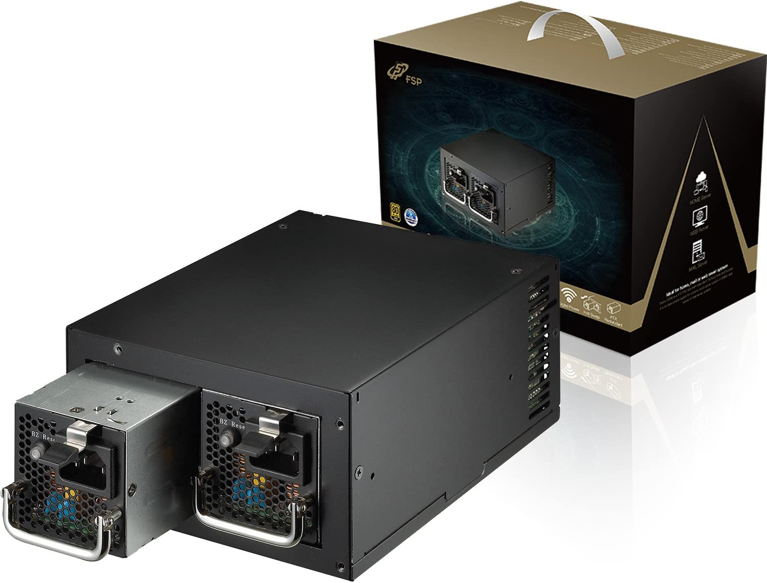 FSP OFFicial mail order Group Twins ATX PS2 1+1 Dual Sw Gold 500W 80 Plus Module Fixed price for sale Hot