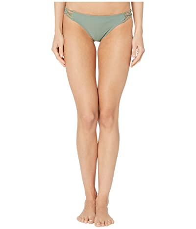 Volcom Simply Solid Full Bottoms (Dark Green) Women