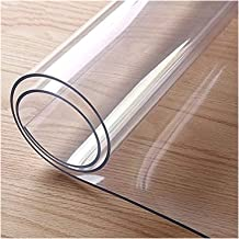 Tafelbescherming Transparant, Pvc Tafelkleed Transparant, Folie Beschermfolie Transparant Tafelkleed Wasbaar, Tafelkleed G...