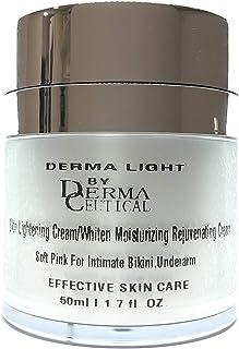 Skin Lightening Cream, Whiten Moisturizing Rejuvenating Cream Soft Pink For Intimate Bikini Underarm Bikini
