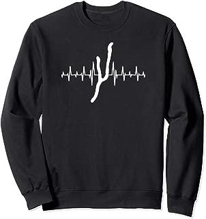 Heartbeat Keuka Lake Upstate NY - Finger Lakes - Lake Life Sweatshirt