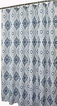 Welwo Bathroom-Bath Waterproof Shower Curtain Bathroom Bath Water Proof and Machine Washable Shower Curtain Waterproof Shower Curtain for Bathroom-Bathtub (Extra Long, 72 x 84, Blue White)