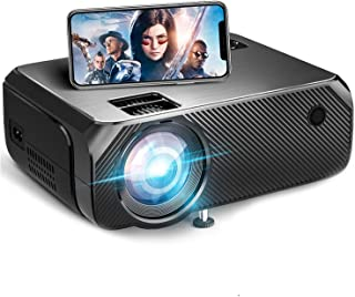 YUNSYE WiFi Mini Projector, Outdoor Movie Projector Native 1280x720P and 200 Inch Picture, Lumens 3900lms,1080P Supported ...