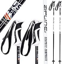 Ski Poles Graphite Carbon Composite - Zipline Lollipop U.S. Ski Team Official Supplier
