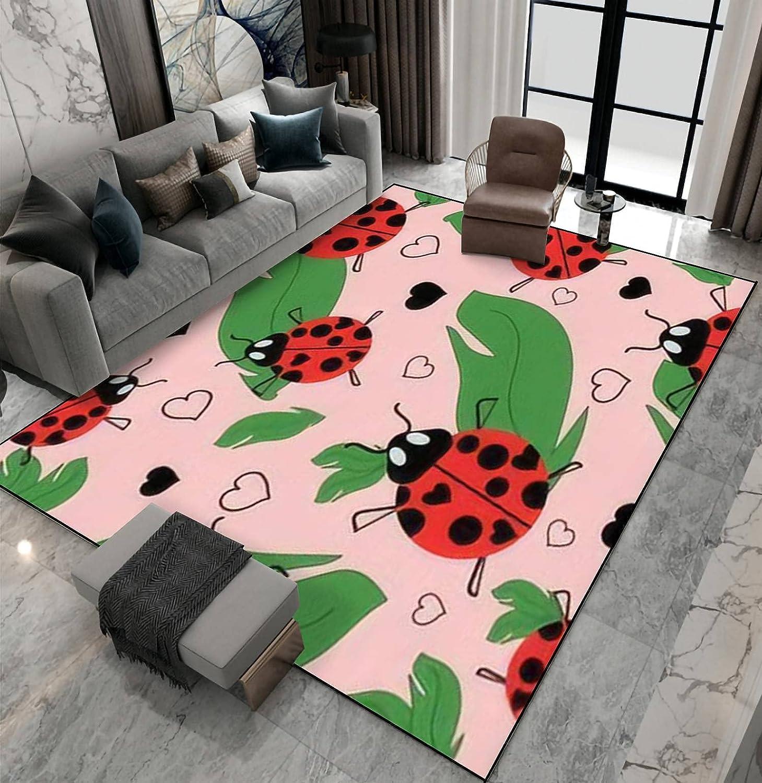 Area Rug Non-Slip Floor Mat Lovely Repeat eps Ladybug Wholesale In Pattern Denver Mall
