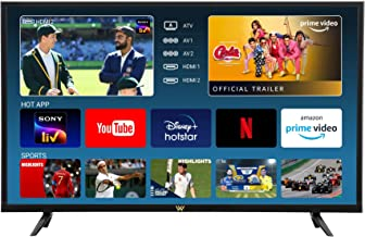 VW 80 cm 32 inches HD Ready LED Smart TV VW32PRO Black 2021 Model