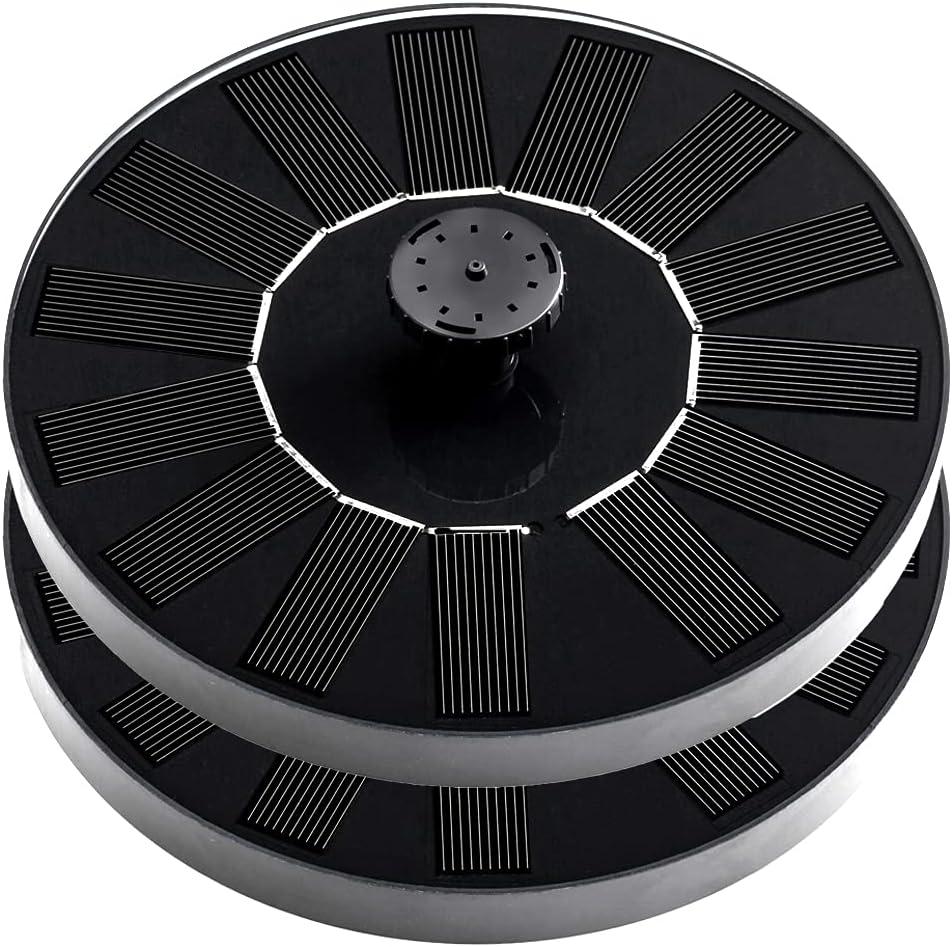 Keytas Popular shop is the lowest price challenge Solar Bird Bath OFFer Fountain Pump 1.4W Packs Upgrade 2