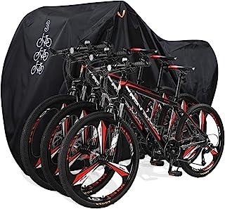 Large Waterproof Bicycle Bike Cover Outdoor Rain Protector Garage For 3 Bikes