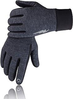 SIMARI Winter Gloves Men Women Touch Screen Glove Cold Weather Warm Gloves Workout Gloves Running Cycling Training