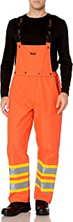 Viking Men's Journeyman 300d Insulated Safety Bib Pant (ansi)