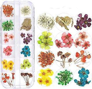 押し花 ドライフラワー 3Dネイル レジンデコレーション DIYデコレーション飾り用品 (3)