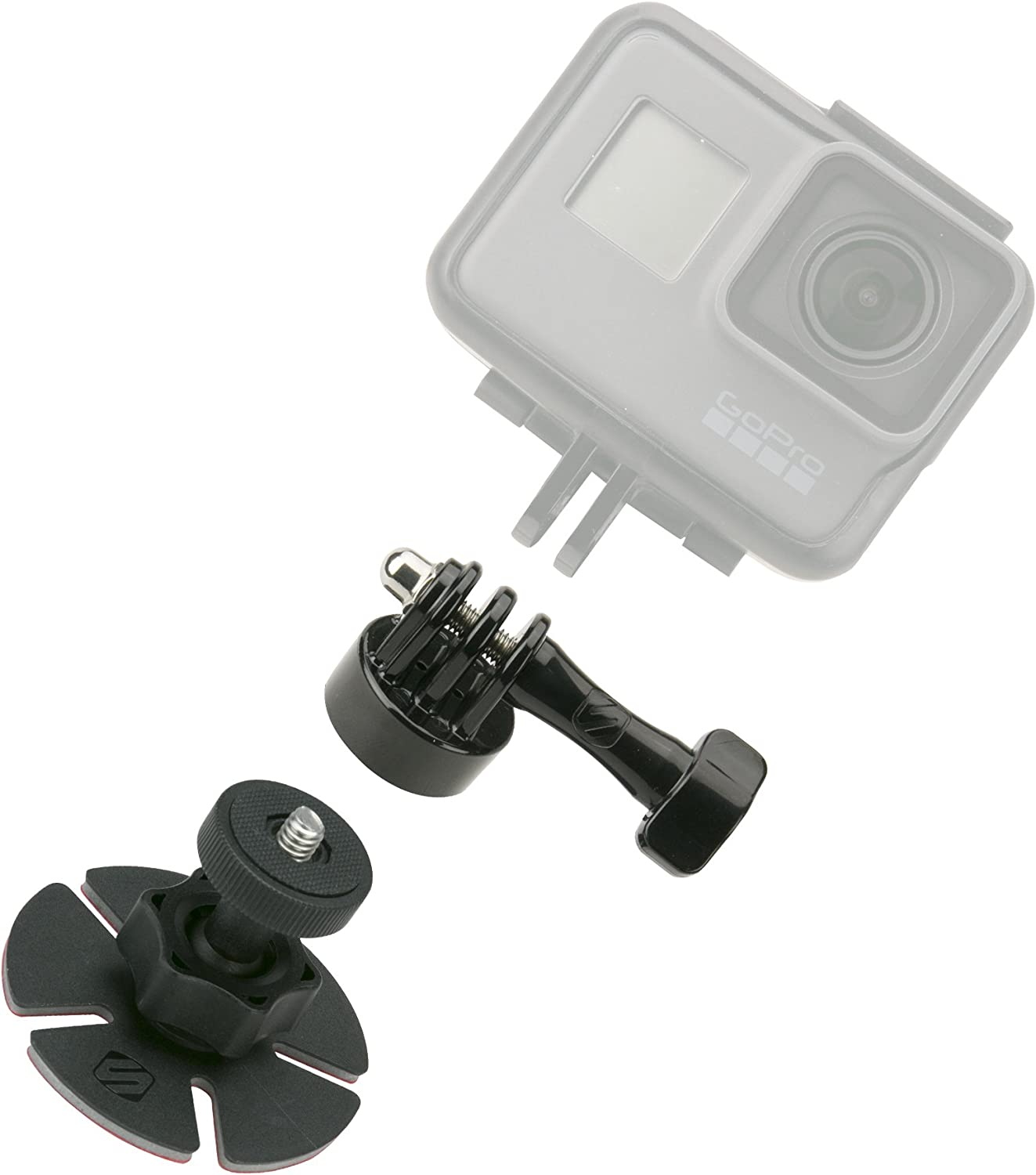 SCOSCHE AMK2-BPO Closeup Dealing full price reduction KIT Universal Action Mount Camera Indianapolis Mall with