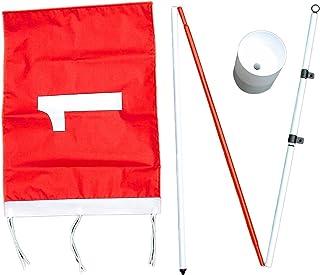 ProActive Sports 后院旗杆钢杆和高尔夫球杯