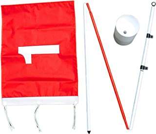 ProActive Sports Backyard Flagstick Steel Pole and Golf Cup