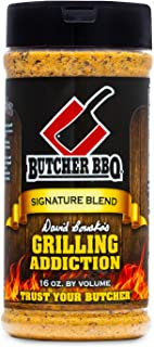 Butcher BBQ | Grilling Addiction Rub | Perfect for Steaks | Perfect for Charcoal Cooking