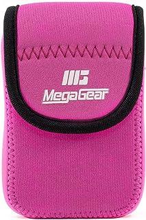 MegaGear MG1279 Estuche para cámara fotográfica Carcasa compacta Rosa - Funda (Carcasa compacta, Nikon, Coolpix W300, AW130, Ricoh WG-50, WG-30W, Rosa)